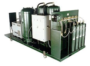 Cylinder filling system medical / oxygen CFP-650 Oxygen Generating Systems International