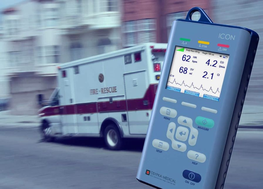 Cardiac output monitor ICON® Osypka Medical