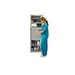Automated medication dispensing cabinet with computer MTS Medication Technologies
