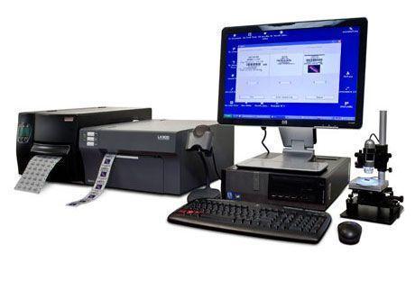 Barcode labeler PillVue MTS Medication Technologies