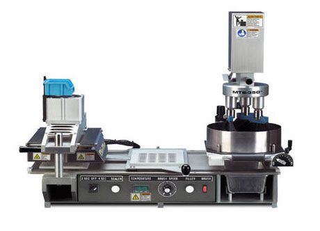 Semi-automated filling and sealing machine / medicine / pharmacy MTS-350 MTS Medication Technologies