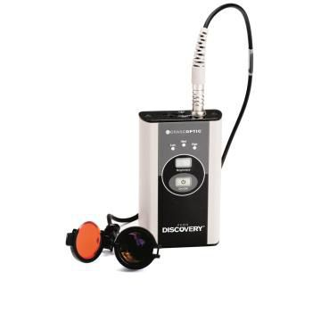 Binocular loupe headlight / LED / with rechargeable battery Discovery™ Orascoptic