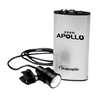 Binocular loupe headlight / LED / portable / with rechargeable battery Apollo™ Orascoptic