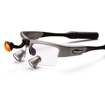 Magnifying loupe with frames / with headlamp XV1™ Orascoptic