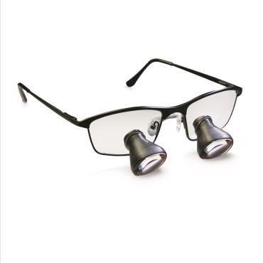 Magnifying loupe with frames HiRes™ 3 Orascoptic