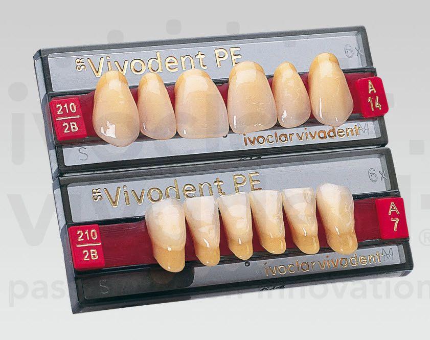 Resin dental prosthesis SR Vivodent PE Ivoclar Vivadent
