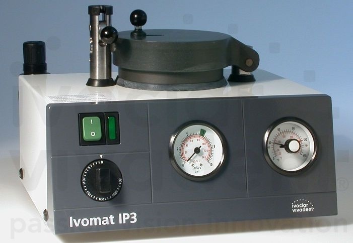 Dental laboratory polymerizer Ivomat IP3 Ivoclar Vivadent