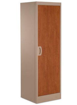 Medical cabinet / patient room / with clothes rack / 1-door Titan® Norix