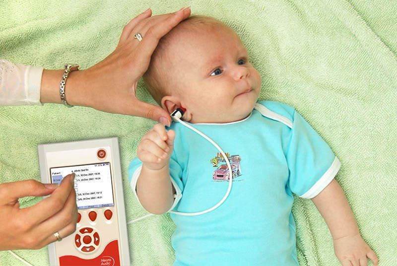 (audiometry) / otoacoustic emission measurement system / evoked auditory potential measurement system / wireless Neuro-Audio-Screen Neurosoft