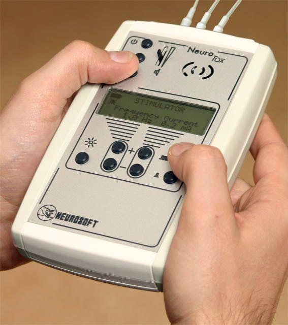 Pocket electromyograph / compact / with neurostimulation Neuro-Tox Neurosoft