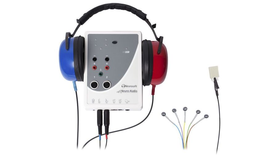 Evoked auditory potential measurement system (audiometry) / otoacoustic emission measurement system / computer-based Neuro-Audio Neurosoft