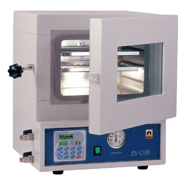 Vacuum laboratory drying oven 70 °C ... 200 °C, 15 L | EV 018 Nüve