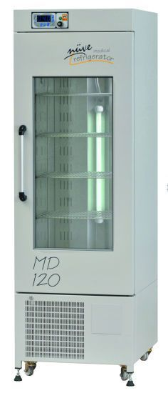 Laboratory refrigerator / pharmacy / cabinet / 1-door 0 ... +10 °C, 200 - 1090 L | MD 72, MD 120, MD 294, MD 504 Nüve