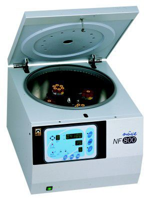Laboratory centrifuge / multifunction / bench-top 500 - 14 000 rpm | NF 800 Nüve