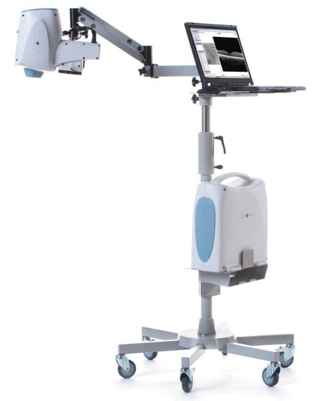 OCT ophthalmoscope (ophthalmic examination) / pachymeter / OCT pachymetry / portable ISTAND™ Optovue