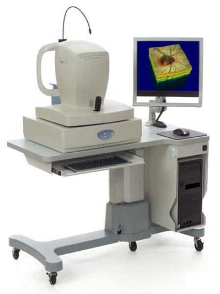 OCT ophthalmoscope (ophthalmic examination) / ophthalmology ultrasound RTVUE® SD-OCT Optovue