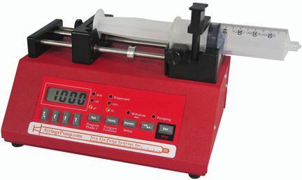 1 channel syringe pump 0,00073 - 2100 ml/hr | NE-1000 New Era Pump Systems