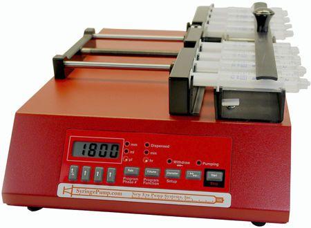 Multi-channel syringe pump 0,000568 - 380 ml/hr | NE-1800 New Era Pump Systems