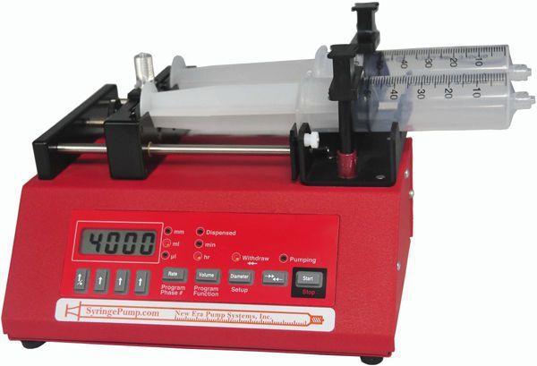 2-channel syringe pump NE-4002X New Era Pump Systems