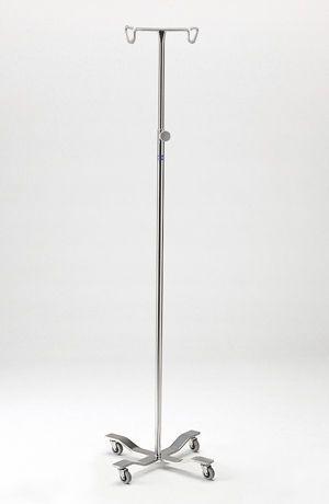 2-hook IV pole / folding / telescopic P-76 Logiquip