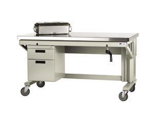 Healthcare facility worktop / on casters / with drawer ALC/R6036-LOGIQ Logiquip