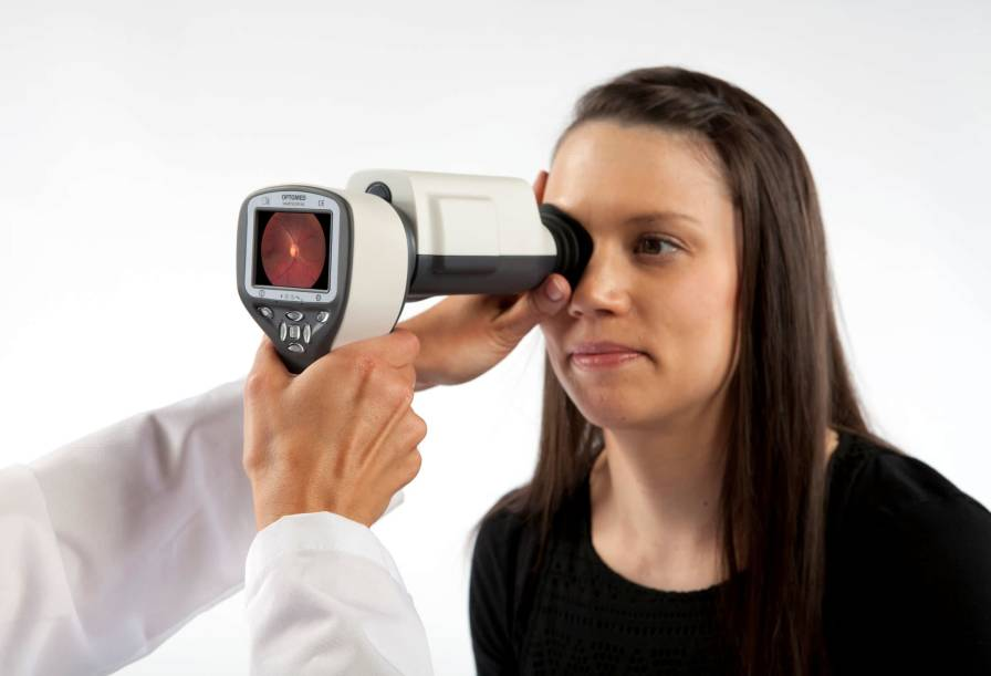 Non-mydriatic retinal camera (ophthalmic examination) SMARTSCOPE PRO EY4 Optomed Oy (Ltd.)