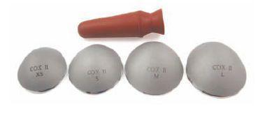 Laser eye shield COX II Oculo Plastik