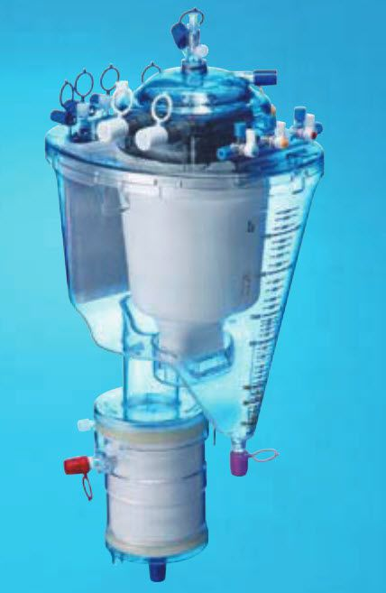 Pediatric extracorporeal oxygenator / infant / hollow fiber THYMUS Nipro