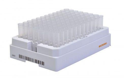 Test tube laboratory rack Roborack-96 Micronic