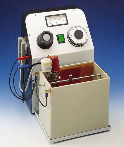 Polishing unit electrolytic / for dental laboratory EG 1 MIHM-VOGT