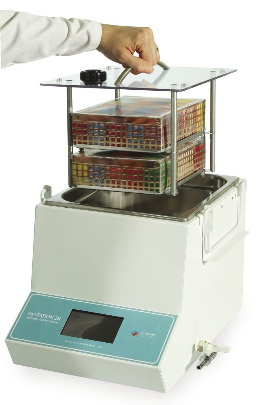 Tissue automatic sample preparation system / fixation / for histology FixSTATION Line Milestone