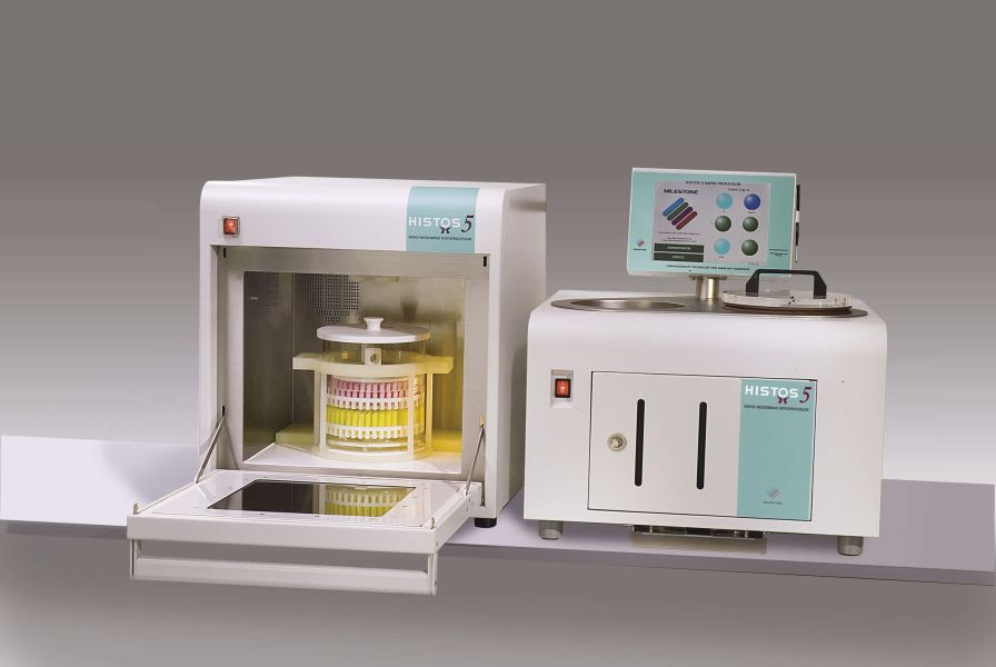 Tissue automatic sample preparation system / for histology / microwave Histos 5 Milestone