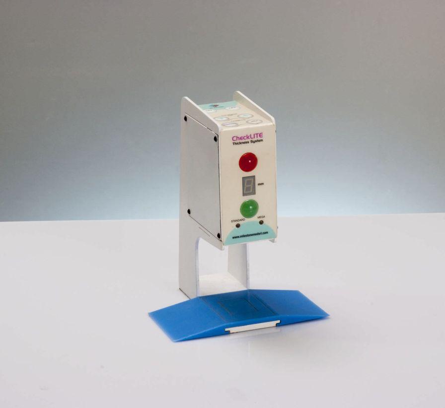 Laser-based thickness measurement system CheckLITE Milestone