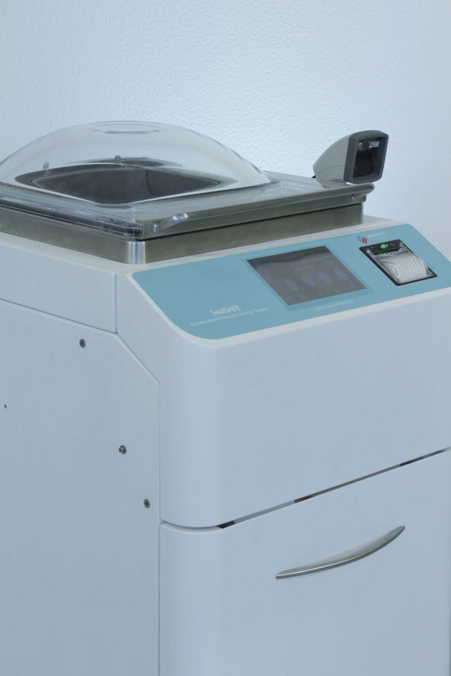 Automatic fixative addition system SealSAFE Milestone