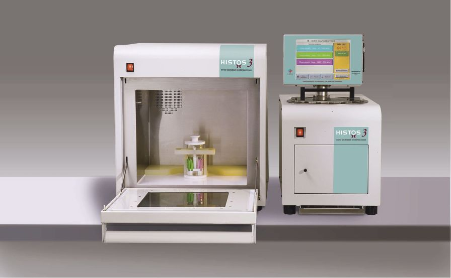 Tissue automatic sample preparation system / for histology / microwave Histos 3 Milestone