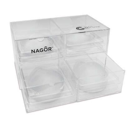 Breast cosmetic implant / anatomical / silicone CoGel® Nagor