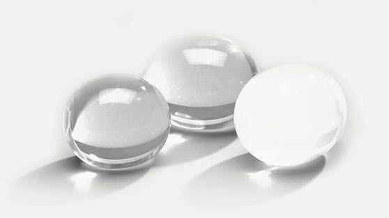 Testicular cosmetic implant / round / silicone TFI, TGID Nagor