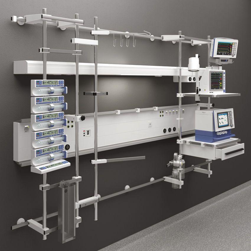 Modular bed head unit / horizontal FS 4500 Modul technik