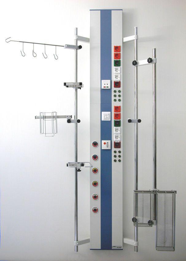 Vertical bed head unit IVV 1054 Modul technik