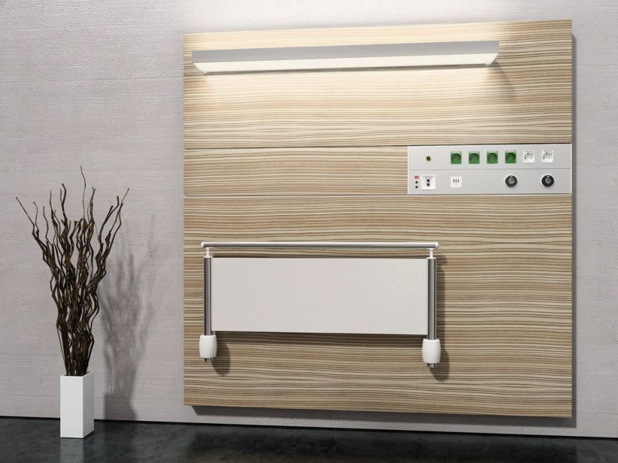 Modular bed head unit / with light comfort Modul technik