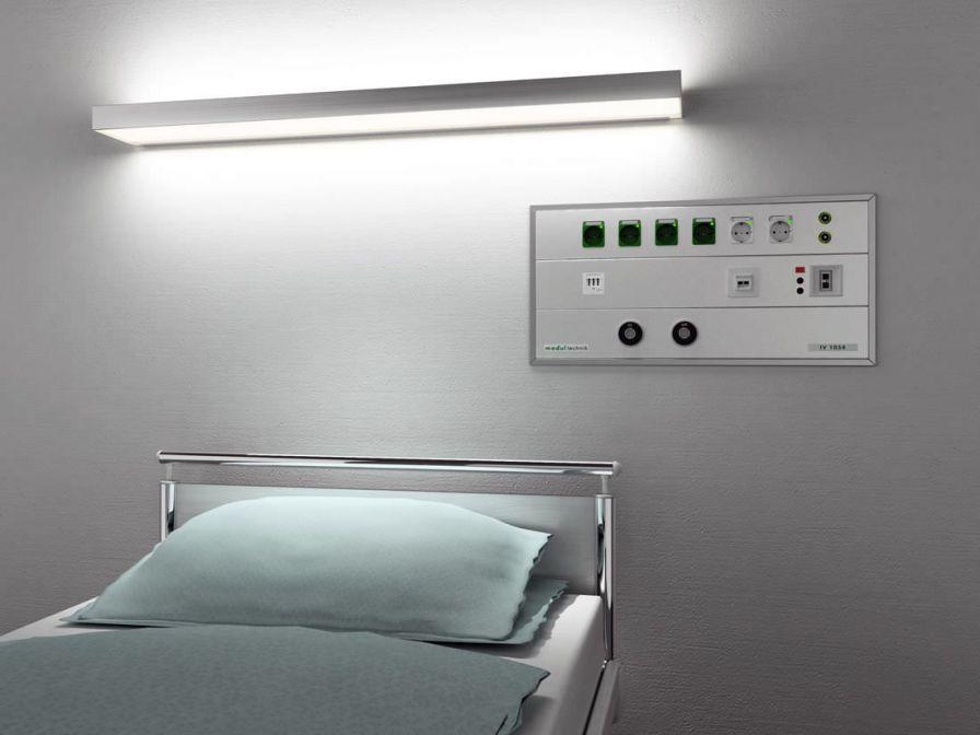 Horizontal bed head unit IV 1054 UP Modul technik