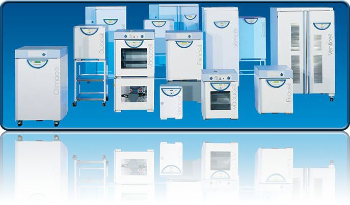 Hot air laboratory drying oven Ecocell MMM Münchener Medizin Mechanik