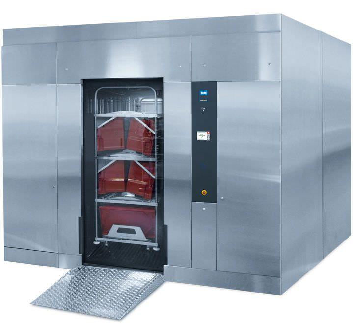 Medical washer-disinfector / high-capacity / with automatic door Uniclean ML MMM Münchener Medizin Mechanik