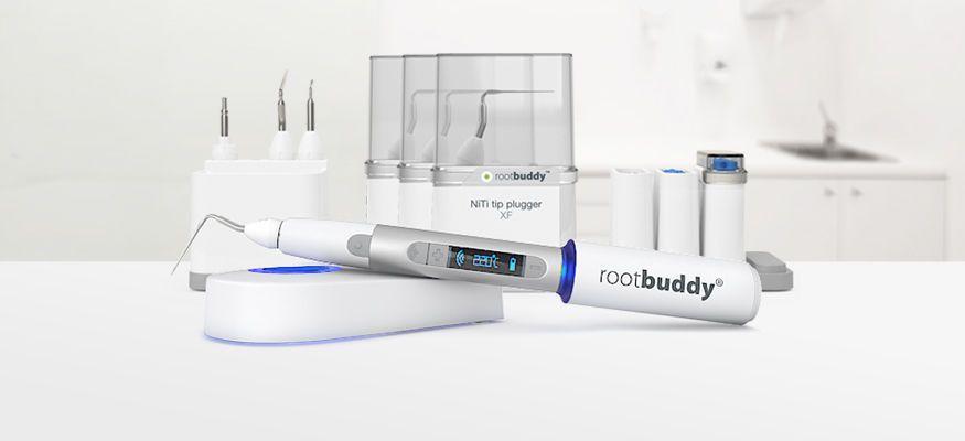 Cordless root canal obturator / Gutta Percha Rootbuddy Nikinc Dental