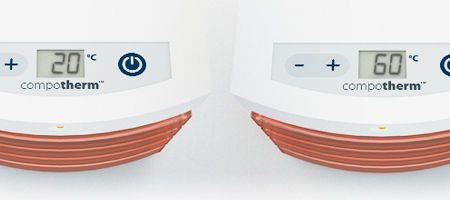 Heating oven / dental laboratory / for dental composite CompoTherm Nikinc Dental