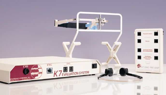 Analysis system dental / with electro-myograph K7 Myotronics