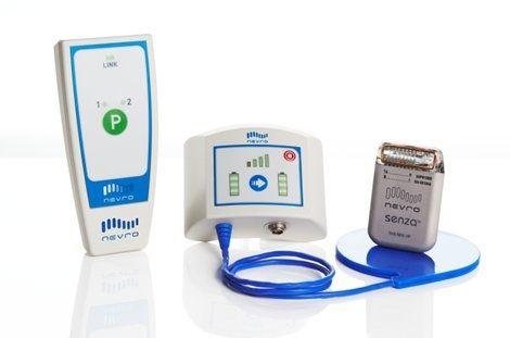 Implantable neurostimulator / medullary Senza™ Nevro Corp.