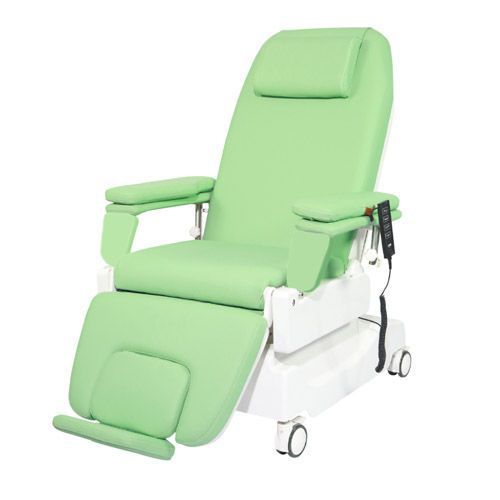 Electrical dialysis chair / height-adjustable / on casters / 3 sections PY-YD-310 Nanning passion medical equipment
