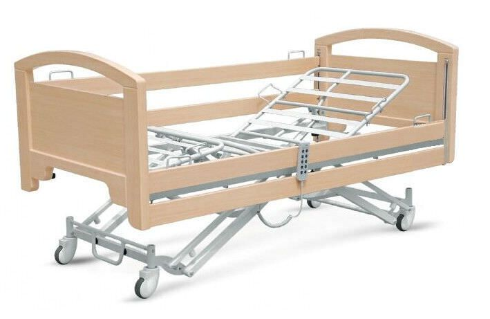 Nursing home bed / electrical / height-adjustable / on casters PY-YD-510 Nanning passion medical equipment