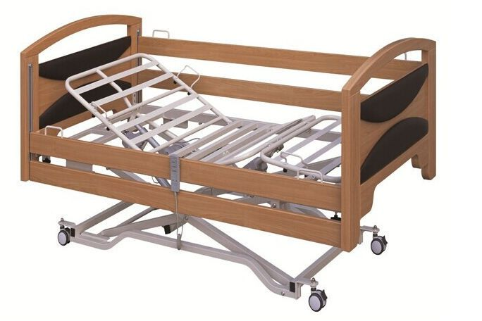 Nursing home bed / electrical / height-adjustable / on casters PY-YD-530 Nanning passion medical equipment